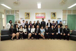 รับมอบอาจารย์สอนภาษาจีน ภายใต้ความร่วมมือทางวิชาการไตรภาคี (MOA)